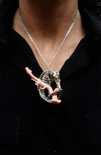 seahorsecoralnecklace
